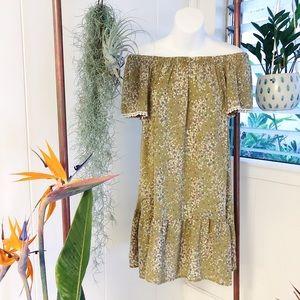 MittoShop Off the Shoulder Strapless Dress